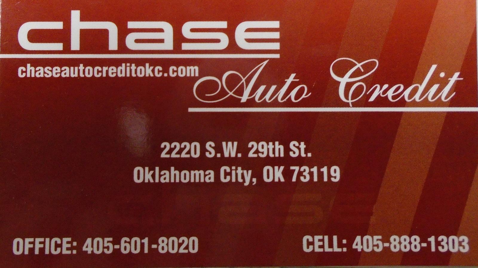 Chase Auto Credit Oklahoma City Ok Read Consumer