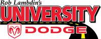 University Dodge Ram logo