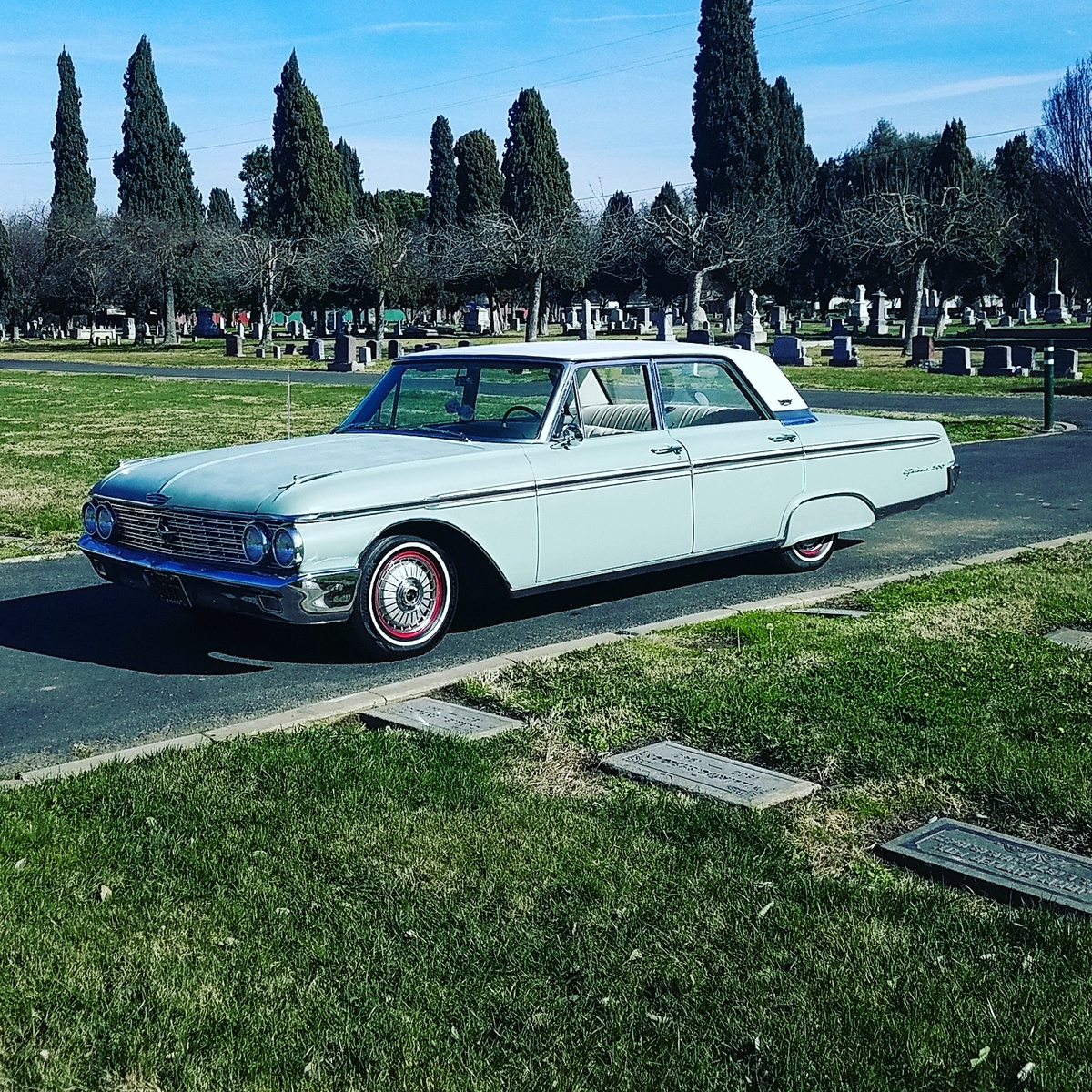 Ford Galaxie Questions - 1962 Ford Galaxie 500 stops taking