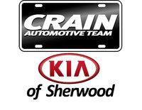 Crain Kia of Sherwood logo