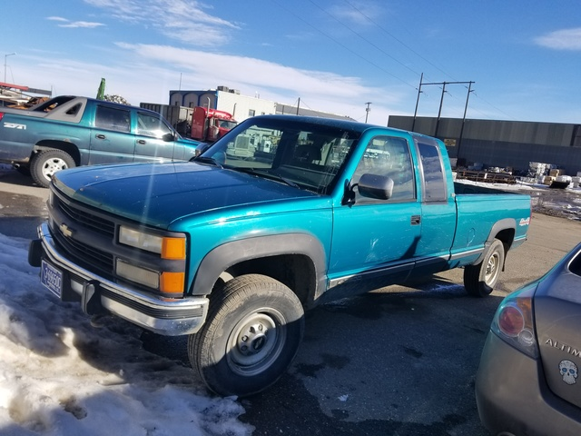Picture of 1994 Chevrolet C/K 2500 Silverado Extended Cab LB 4WD, gallery_worthy