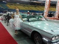 1964 Ford Thunderbird, One of the hostesses at the Autorama did some photo shoots with my car, gallery_worthy