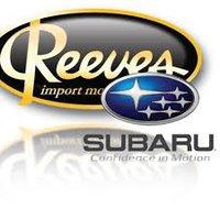 Reeves Subaru logo
