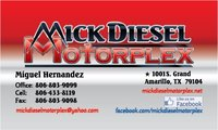 Mickdiesel Motorplex logo