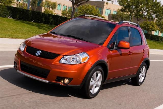 Picture of 2009 Suzuki SX4 Base, exterior, gallery_worthy