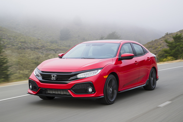 Picture of 2018 Honda Civic Hatchback