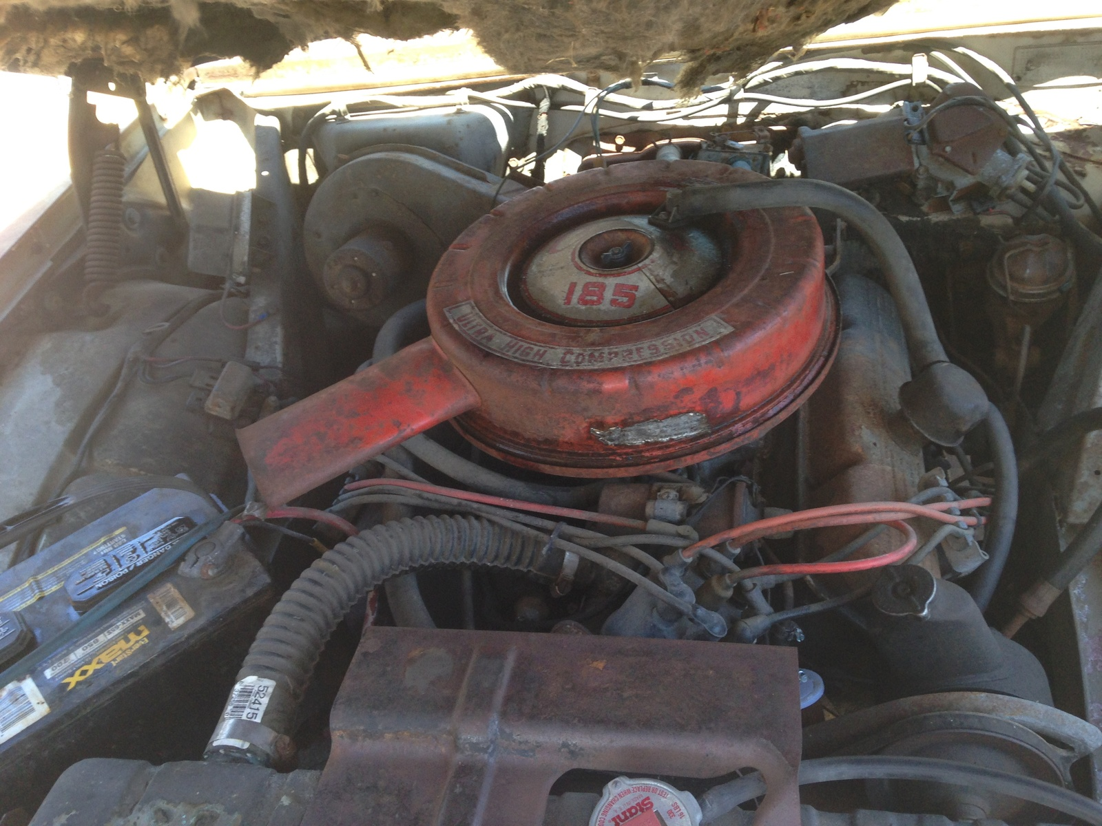 Oldsmobile Cutlass Questions - My 1962 olds f85 came without motor