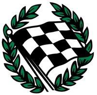 Checkered Flag Honda logo