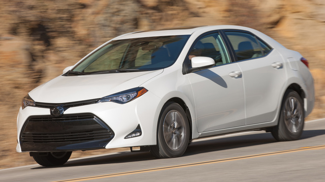 2018 Toyota Corolla, Front-quarter view, manufacturer, gallery_worthy