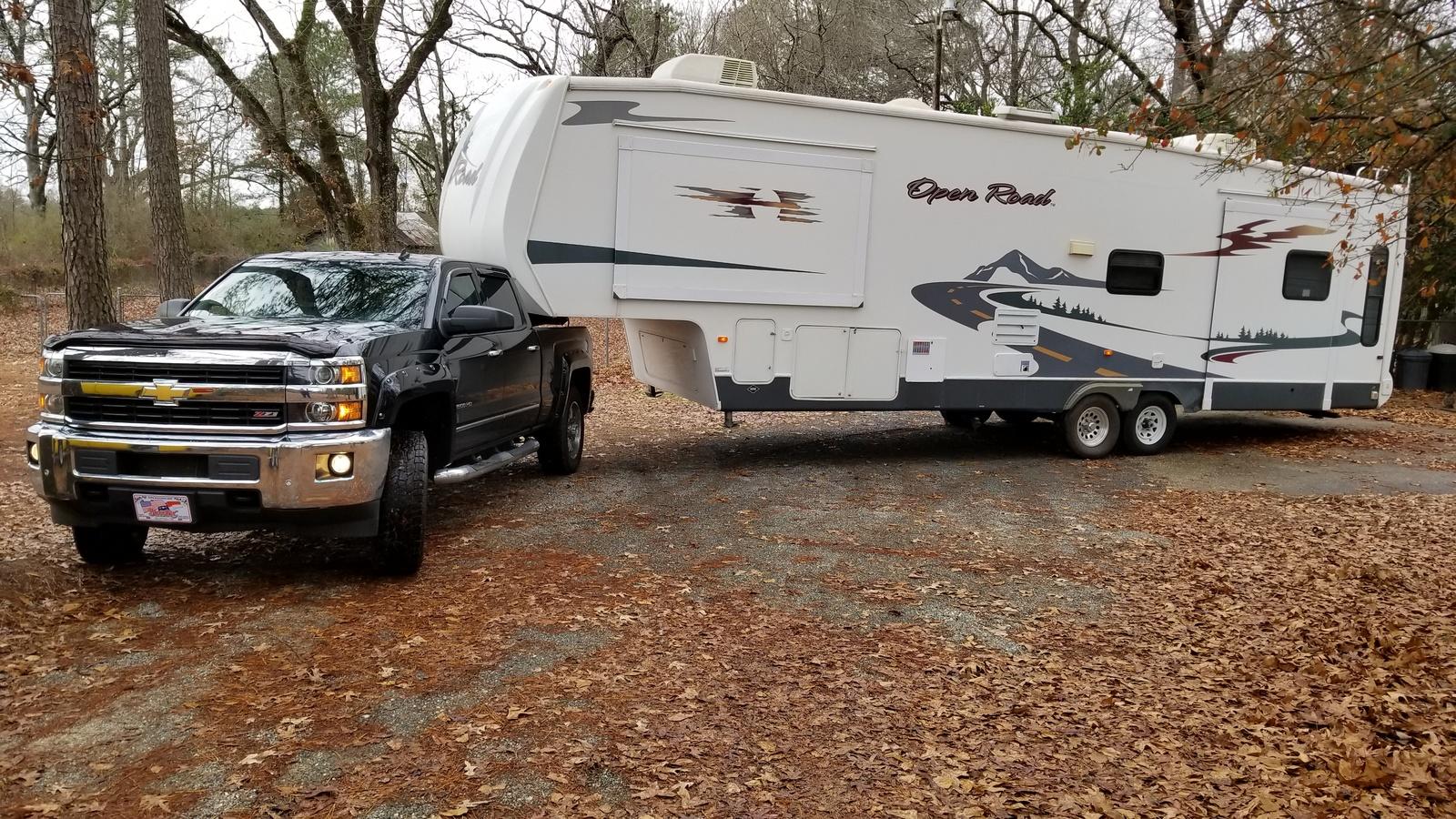 Chevrolet Silverado 2500hd Questions I Purchased A 34 Ft 5th Wheel