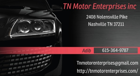 tn motor enterprises inc nashville tn read consumer reviews browse used and new cars for sale. Black Bedroom Furniture Sets. Home Design Ideas