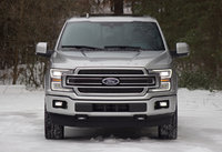 Front of the 2018 Ford F-150, exterior, gallery_worthy