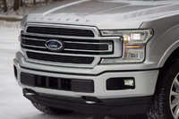 Front end detail of the 2018 Ford F-150, exterior, gallery_worthy