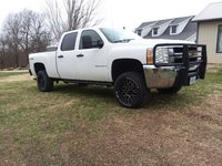 Picture of 2009 Chevrolet Silverado 2500HD Work Truck Crew Cab 4WD, exterior, gallery_worthy
