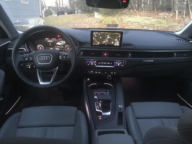 2018 Audi A4 Allroad Interior Pictures Cargurus