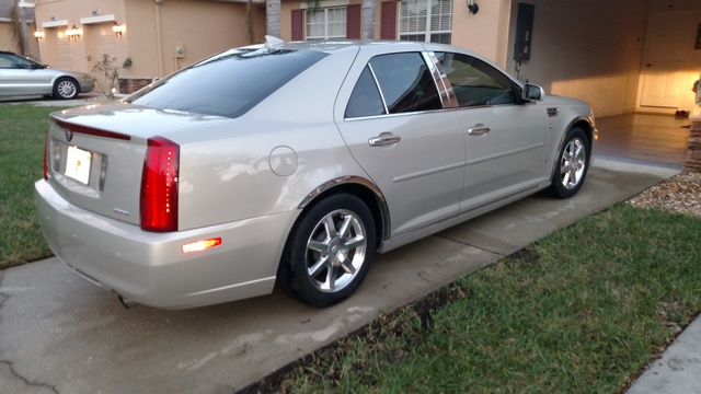Picture of 2009 Cadillac STS V6 RWD, exterior, gallery_worthy