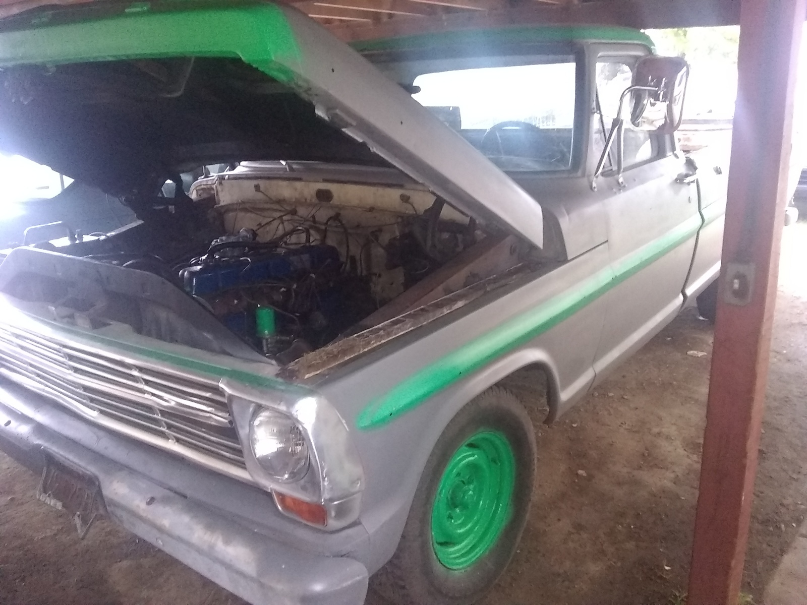 Ford f 100 questions 1969 ford f100 starts but runs really rough cargurus