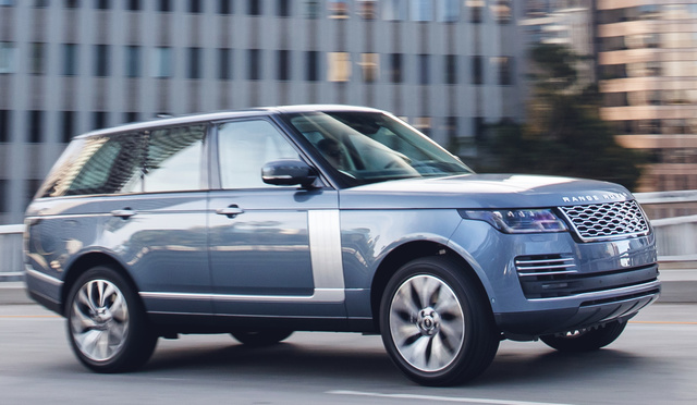 2018 Land Rover Range Rover Pictures Cargurus
