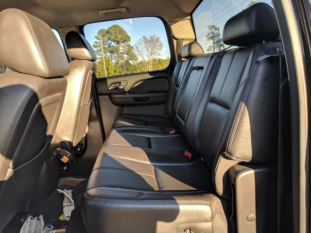 Picture of 2009 GMC Sierra 3500HD SLT Crew Cab DRW 4WD, interior, gallery_worthy