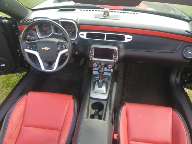 Picture of 2013 Chevrolet Camaro 2LT Convertible RWD, interior, gallery_worthy