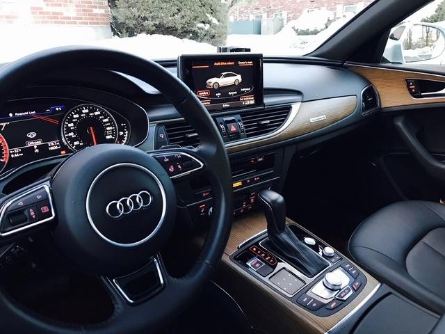 2016 Audi A6 - Interior Pictures - CarGurus