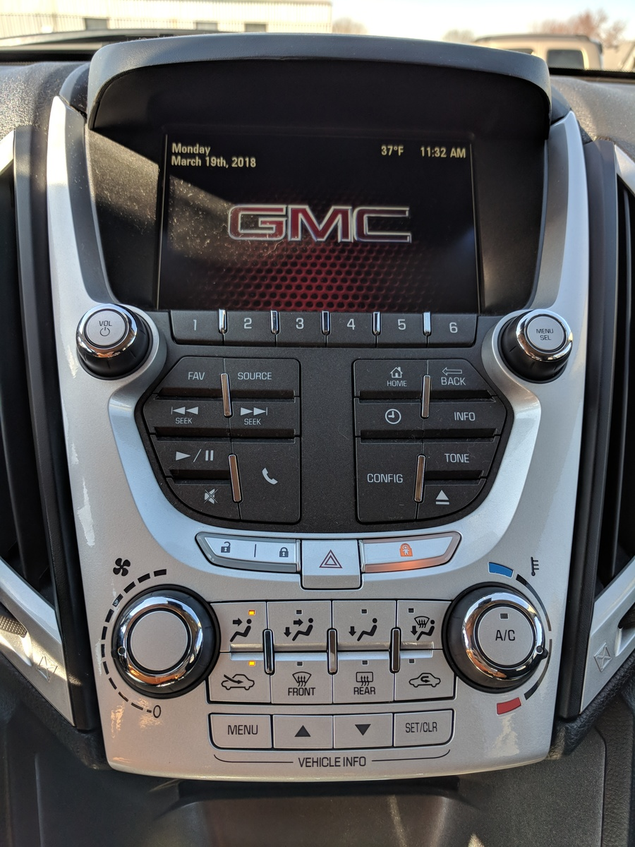 Gmc Terrain Questions Cannot Get The Direction To Change For Heating And Ac Controls Cargurus
