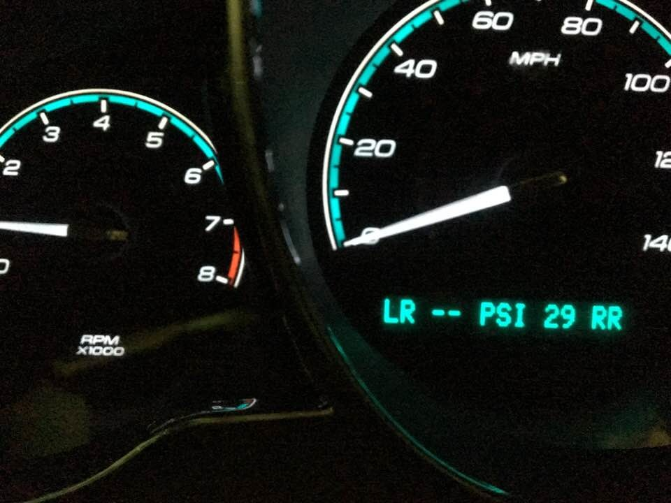 Chevrolet malibu questions am i safe to drive with the service am i safe to drive with the service tire monitor on publicscrutiny Images