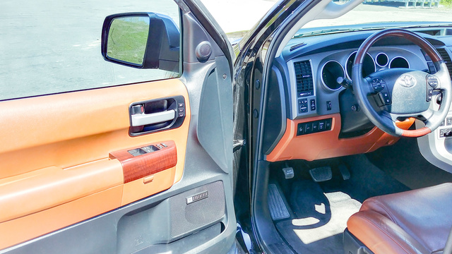 Picture of 2013 Toyota Sequoia Platinum FFV 4WD, interior, gallery_worthy