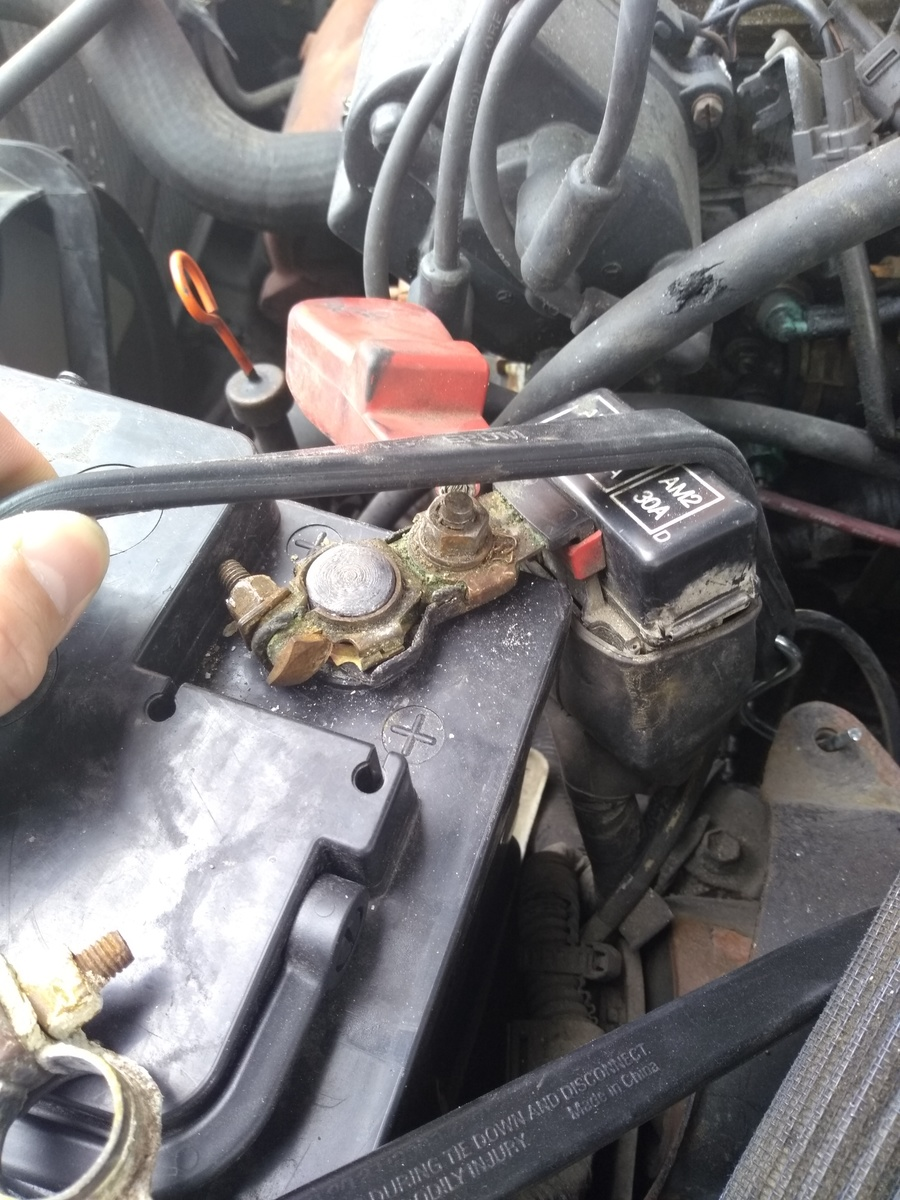 Toyota Corolla Questions Replacing Battery Terminals Due To So