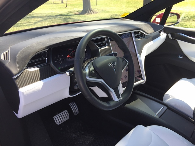 2017 Tesla Model X - Interior Pictures - CarGurus