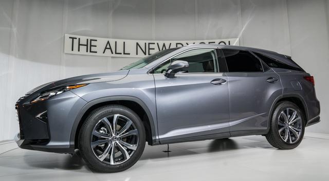 2018 Lexus RX, Front-quarter view, exterior, manufacturer, gallery_worthy