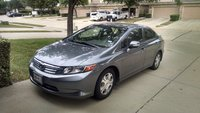 Picture of 2012 Honda Civic Hybrid w/ Leather and Nav, exterior, gallery_worthy