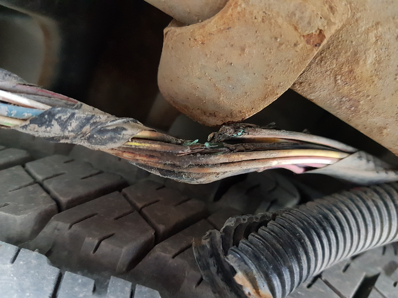 I was lucky that the constant shorting did not cause issues with the  computer. Others may not be so lucky. This is a major design flaw, check  your trucks.