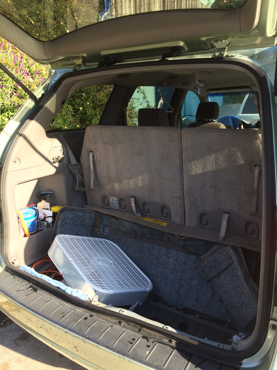 Toyota Sienna Service Manual: Front door glass weatherstrip