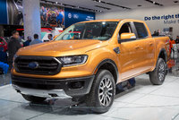 2019 Ford Ranger, Front-quarter view from the 2018 Detroit Auto Show., exterior, gallery_worthy
