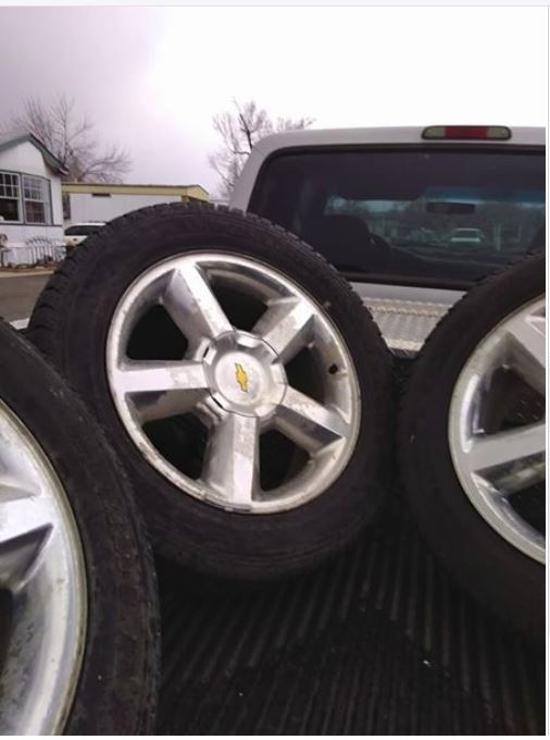 Trucks For Sale In Colorado >> Chevrolet Avalanche Questions - Will 20 wheels/rims from a ...