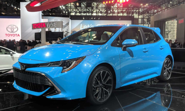 2019 Toyota Corolla Hatchback at the 2018 NYIAS
