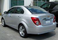 Picture of 2014 Chevrolet Sonic LTZ Sedan FWD, exterior, gallery_worthy