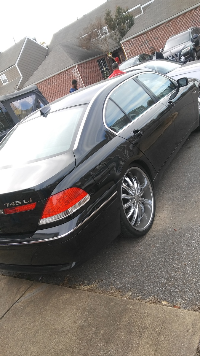 Bmw 7 Series Questions How Do I Put 24 Inch Rims On A Bmw 745