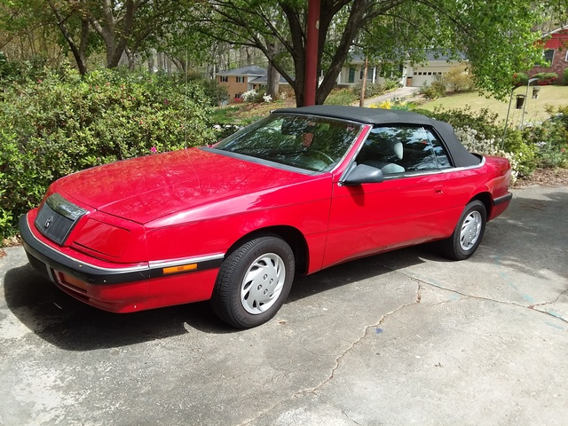 Picture of 1992 Chrysler Le Baron LX Convertible