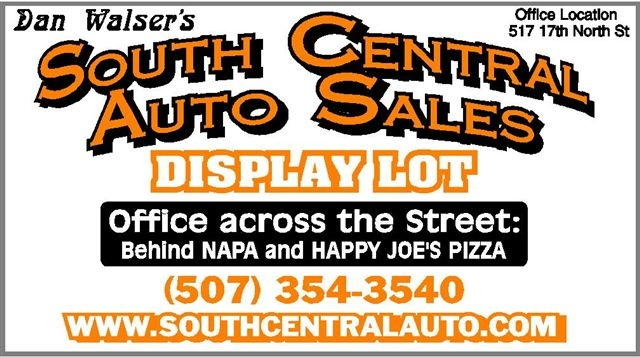 Central Auto Sales >> South Central Auto Sales Service New Ulm Mn Read