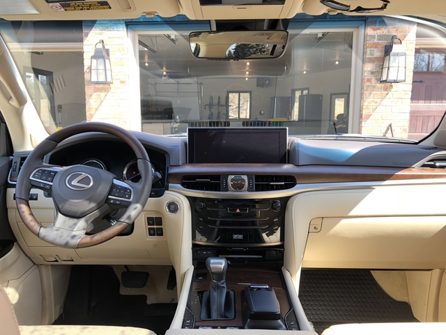 Picture Of 2018 Lexus LX 570 3 Row 4WD, Interior, Gallery_worthy