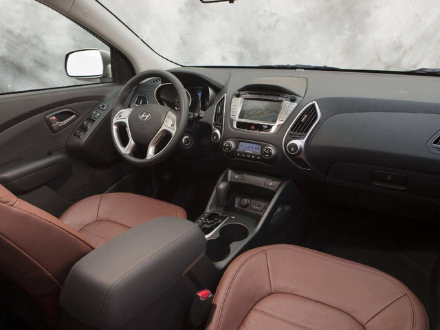Picture Of 2012 Hyundai Tucson Limited AWD, Interior, Gallery_worthy Awesome Design