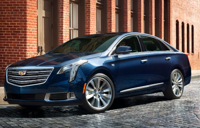 2018 Cadillac XTS, exterior, manufacturer, gallery_worthy
