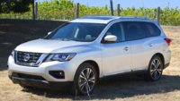 2018 Nissan Pathfinder Picture Gallery