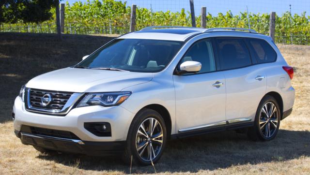 2018 Nissan Pathfinder, exterior, manufacturer, gallery_worthy