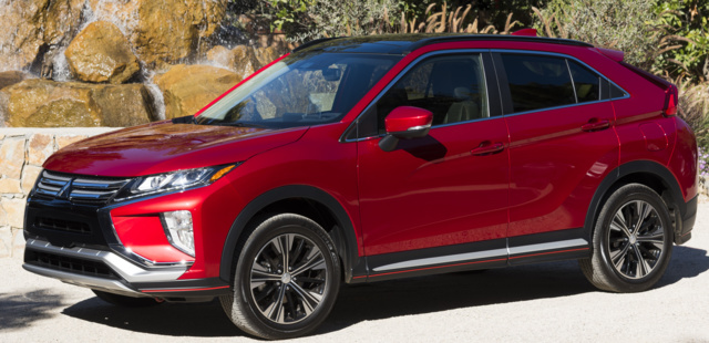 2018 Mitsubishi Eclipse Cross, exterior, manufacturer, gallery_worthy
