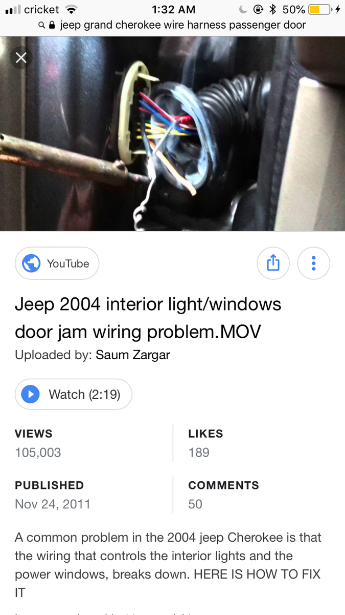 Jeep Grand Cherokee Questions