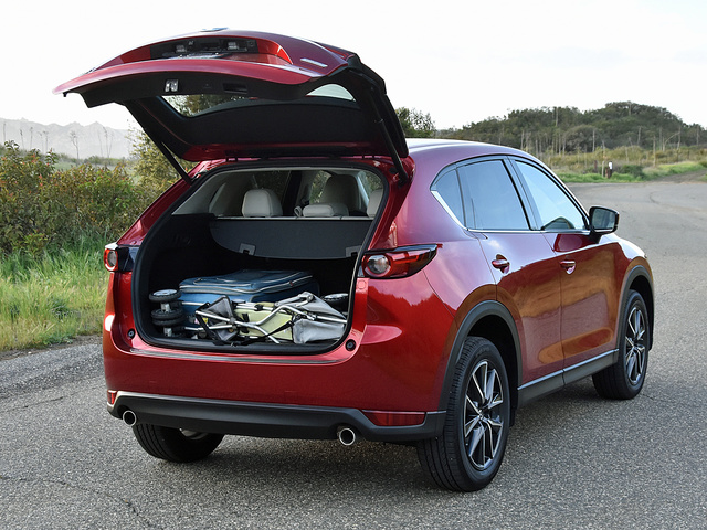 2018 Mazda CX-5 Grand Touring AWD, 2018 Mazda CX-5 Grand Touring cargo space, interior, gallery_worthy