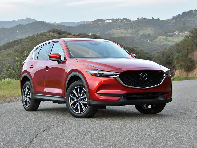 2018 Mazda CX 5 Grand Touring In Soul Red Crystal
